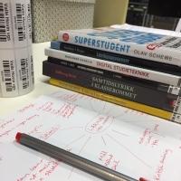 Hva gjør en skolebibliotekar når elever og lærere tar sommerferie?